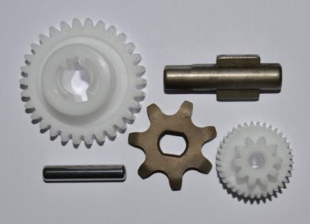 Инструкция по замене шестерней в автоматических приводах Aprimatic Varia Giesse Uni Topp