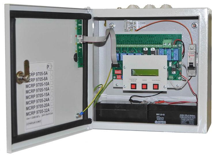 Противопожарная система, пульт управления mcrp 9705
