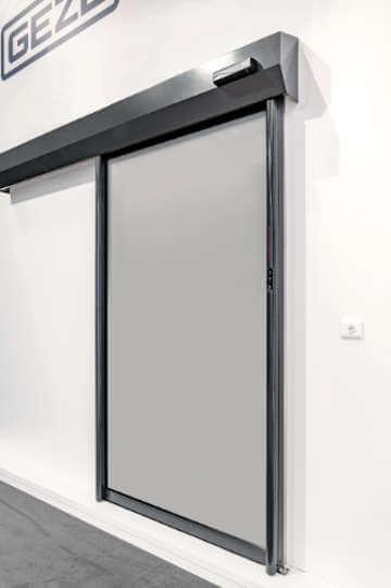 Автоматическая герметичная система раздвижных дверей GEZE MCRdrive