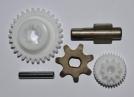 Инструкция по замене шестерней в автоматических приводах