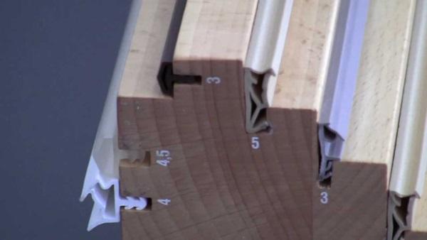 Уплотнители для деревянных евроокон
