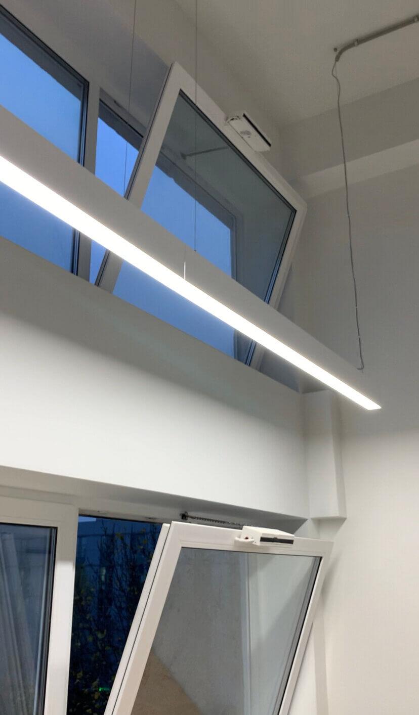 Выполнен монтаж систем проветривания и вентиляции