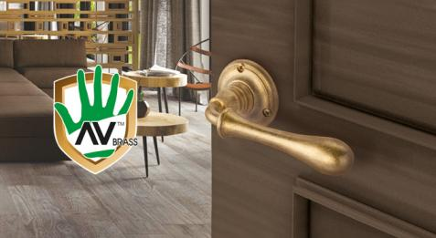 Антибактериальная покраска дверных и оконных ручек