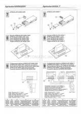 Схема монтажа оконного привода VARIA