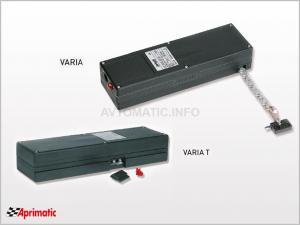 Цепной электропривод для окон и фрамуг APRIMATIC APRICOLOR VARIA 230 В, черный