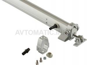 Пассивный Giesse LC 75 DUO/TRY реечный привод, анодированный
