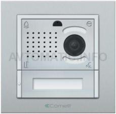 Вызывная панель Comelit IKALL METAL с 1 кнопкой VIP