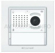 Вызывная панель Comelit IKALL с 1 кнопкой белая VIP