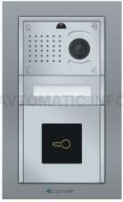 Вызывная панель Comelit IKALL METAL с 1 кнопкой со считывателем VIP