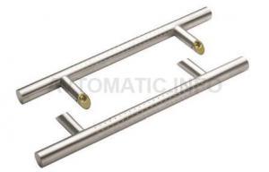Ручка для алюминиевых дверей со смещением, комплект с креплением, L= 1400