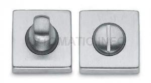 Завертка для сантехнических узлов, STV, квадратная, хром полированный