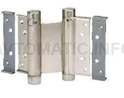 Петля барная 100 мм. для деревянных дверей до 34 кг., никелированная сталь