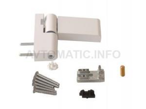 Петля дверная Roto Solid 150 P (110 кг), 14.5-17 мм RAL 9016 E, Белый