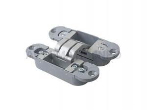 Петля скрытая, 3D, универсальная, 120x30 мм, 40 кг, цамак/нейлон, серебро матовое