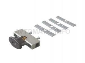 Блокиратор поворота скрытолежащий коричневый (ключ поставляется отдельно)