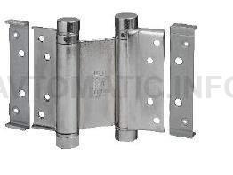 Петля барная 100 мм. для деревянных дверей до 34 кг., хромированная сталь