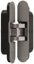 Петля скрытая, 2D, универсальная, нижняя, 116x23/21 мм, 30 кг, цамак/нейлон, с накладками из нейлона, оцинкованный
