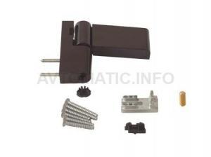 Петля дверная Roto Solid 150 P (110 кг), 14.5-17 мм RAL 8077, Коричневый
