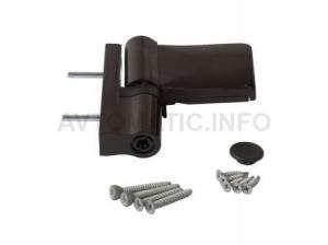 Петля Maxbar KT-N наплав 15-20 мм, Коричневый