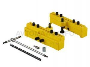 Комплект сверлильных шаблонов для ввертных петель, диаметр 14/16 мм, для дверей с наплавом