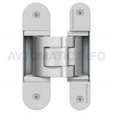 Петля для нефальцов.дверей для коробки со смещ. плоскостями 44 мм до 60 кг. хром мат.