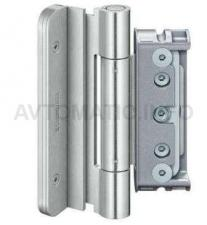 Комплект петель для дверей 3 шт. до 160 кг. коричневые с противовзломным штифтом