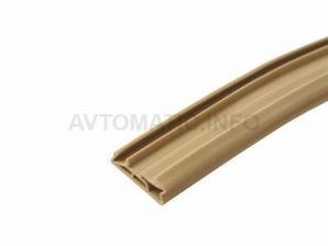 Уплотнитель для деревянных евроокон DEVENTER на фальц створки, ширина паза 4-5 мм, ТЭП, бежевый RAL 1001