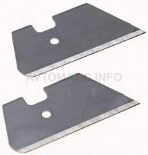 Лезвие сменное DEVENTER для ножниц для резки и закатки уплотнителей