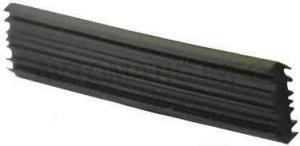 Профиль стыковочный DEVENTER, длина 2050 мм, ТЭП, черный RAL 9004