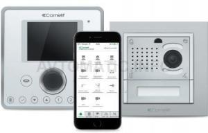 Комплект Comelit IP-видеодомофона iKall METAL 8512HIM