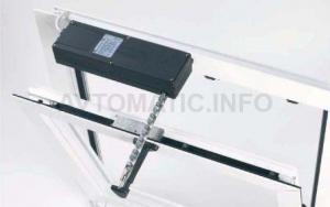 Удлиненный резьбовой штифт Aprimatic для установки привода VARIA на окно из ПВХ или дерева 43501/050