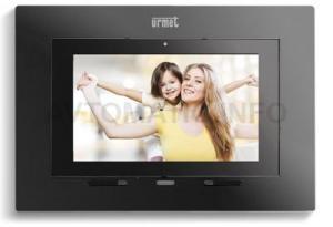 Видеомонитор цветного изображения IP MAX Lite (черный корпус) 1717/43
