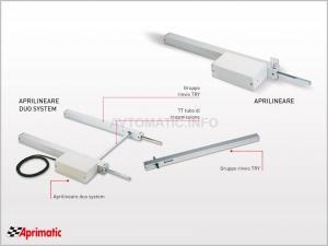 Реечный электропривод для окон и фрамуг APRIMATIC 43573/001 APRI DUO 35 24 В