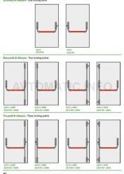 Комплект Антипаника для двухстворчатой двери