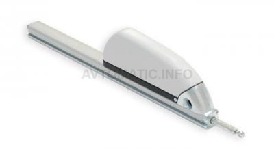 Электропривод реечный RACK MAX 650, 230В, 350мм, серебро, 07440000