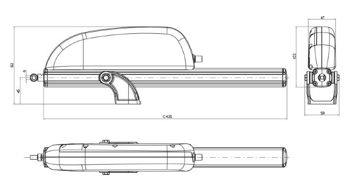 RACK MAX 450, 230В