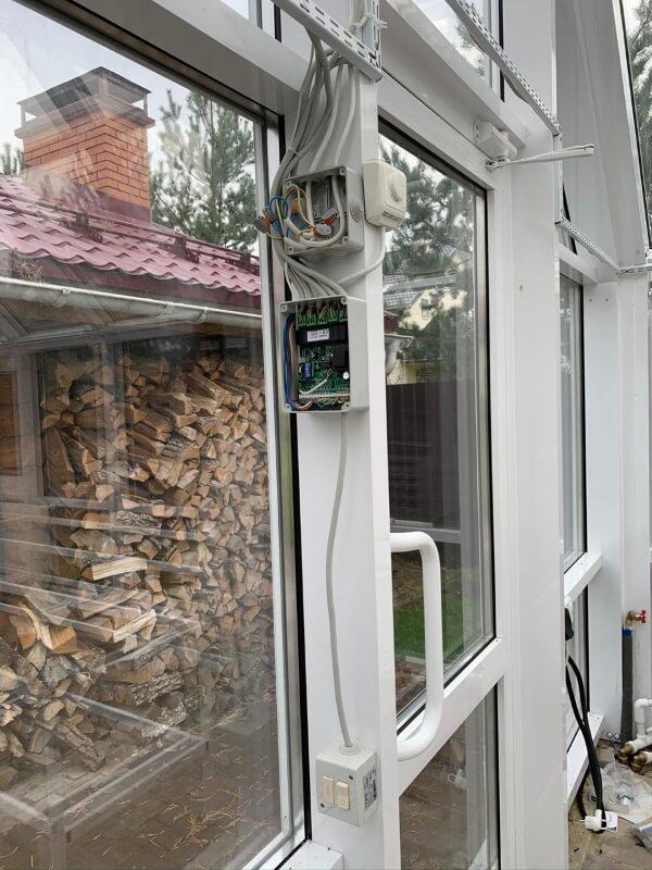 блоки управления окнами