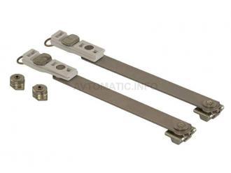 Ножницы фрамужные 250 мм и 150 мм RALLENTY, 2 штуки + 2 крепления, 02041000K