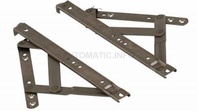 Ножницы фрикционные тип Р для фрамуг с верхним подвесом до 800мм, 2 штуки, 08535000N