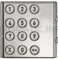 Модуль Sinthesi Steel с цифровой клавиатурой для набора кодов 1158/46