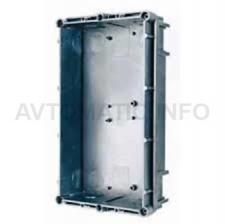 Монтажная коробка внутренней установки на 2 модуля 118 х 204 х 45 мм Urmet 1145/52